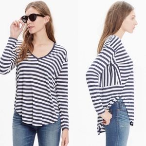 Madewell Anthem Long Sleeve V-Neck Tee